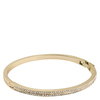 Snö of Sweden Carrie Oval Bracelet, Gold/Clear