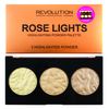 Makeup Revolution Blush Palette Rose Lights