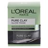 L'Oréal Paris Pure Clay Glow Mask Black (50 ml)