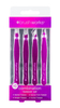 Brush Works HD Combination Tweezer Set, Purple