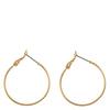 Snö Of Sweden Mystic Ring Earring, Plain Gold (30 mm)