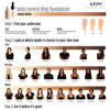 NYX Professional Makeup Total Control Drop Foundation Buff TCDF10 13ml