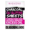 Biovène Charcoal Oil-Blotting Sheets (50 St.)