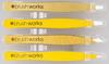 Brush Works HD Combination Tweezer Set, Gold