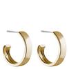 Snö of Sweden Carrie Earrings, Plain Gold