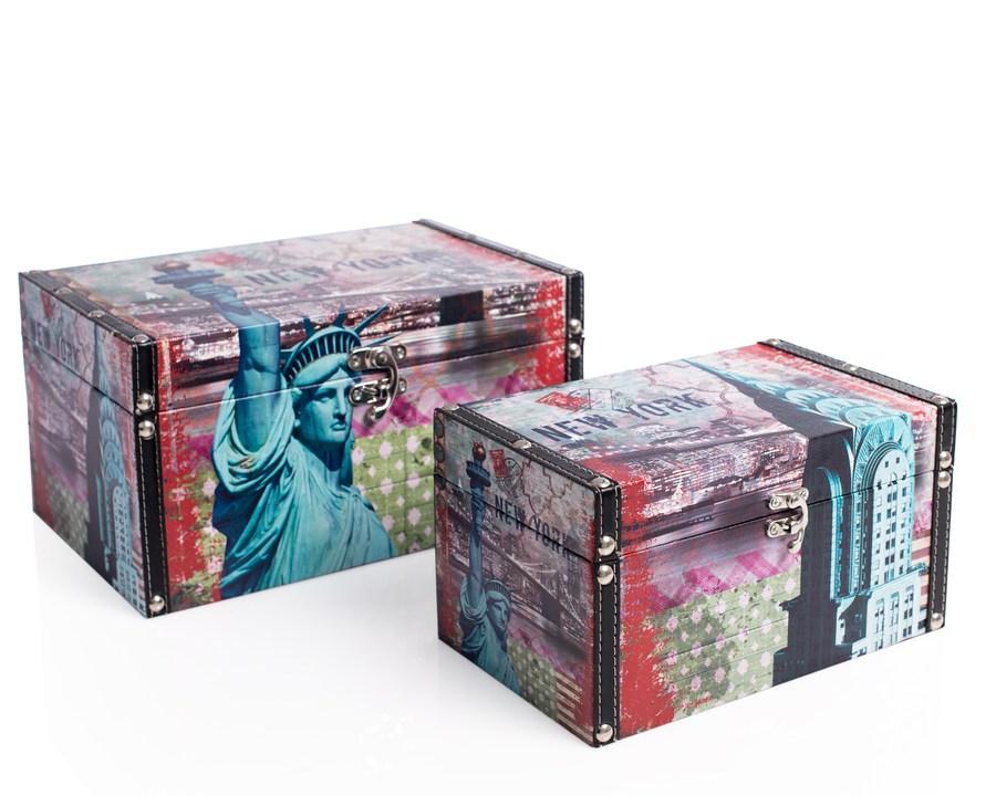 Shelas Aufbewahrungsbox im Statuen-Design