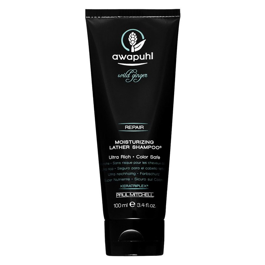 Paul Mitchell Awapuhi Wild Ginger- Moisturizing Lather Shampoo (100 ml)