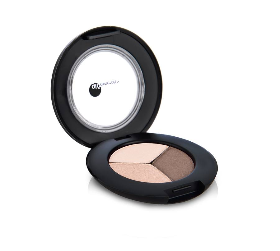 gloMinerals gloEye Shadow Trio, Coffee