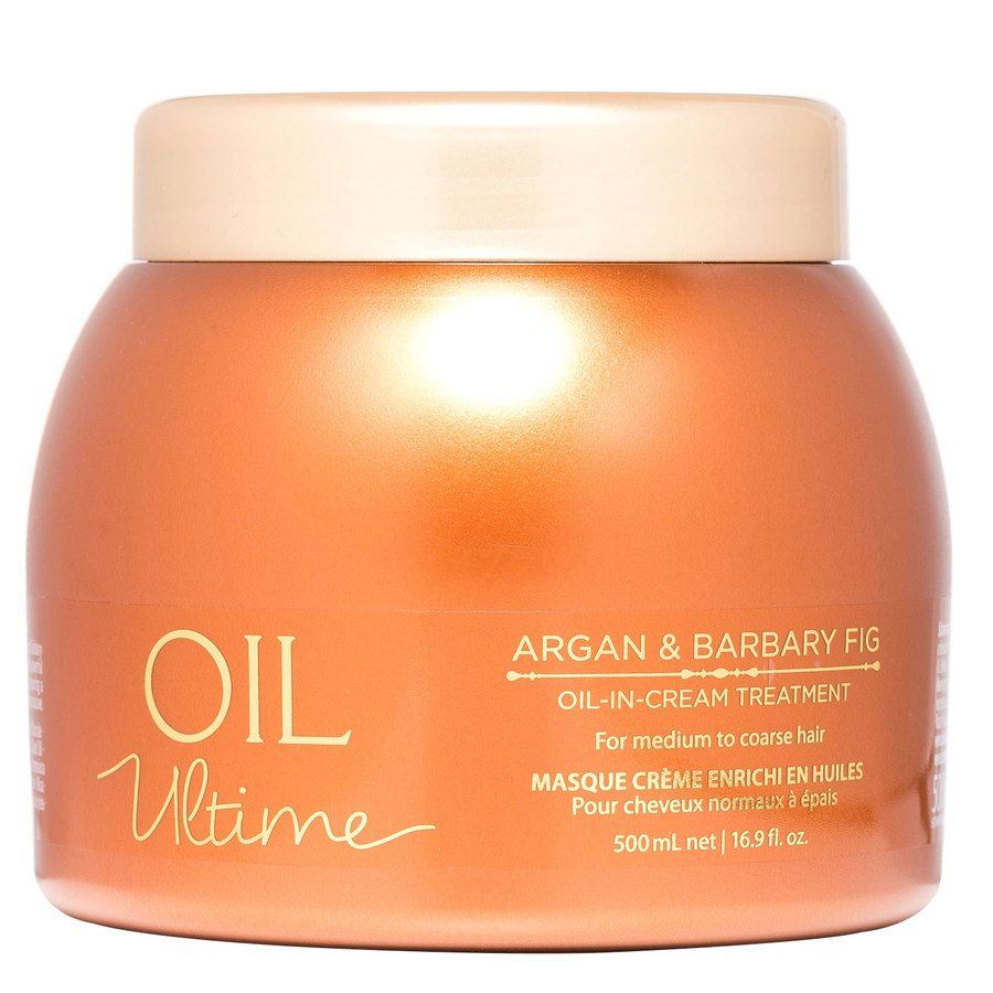 Schwarzkopf Oil Ultime Argan & Barbary Fig Oil-In-Cream Treatment (500 ml)