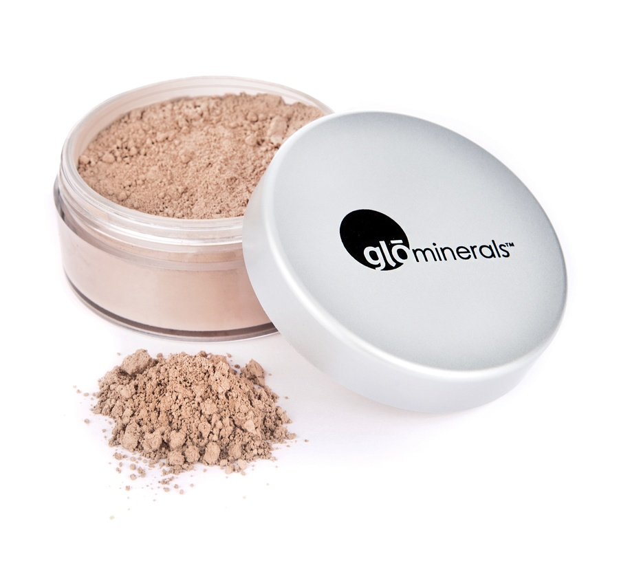 GloMinerals gloLoose Base Puder Foundation (10,5 g), Honey Light