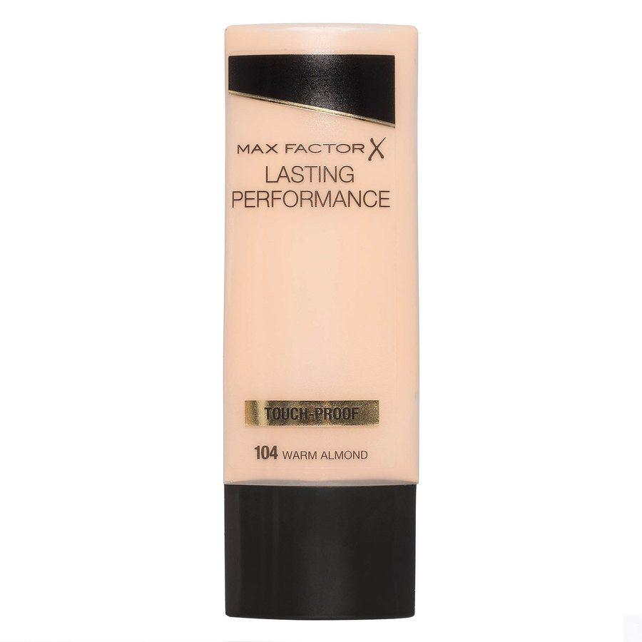 Max Factor Lasting Performance Foundation, 104 Warm Almond (35 ml)