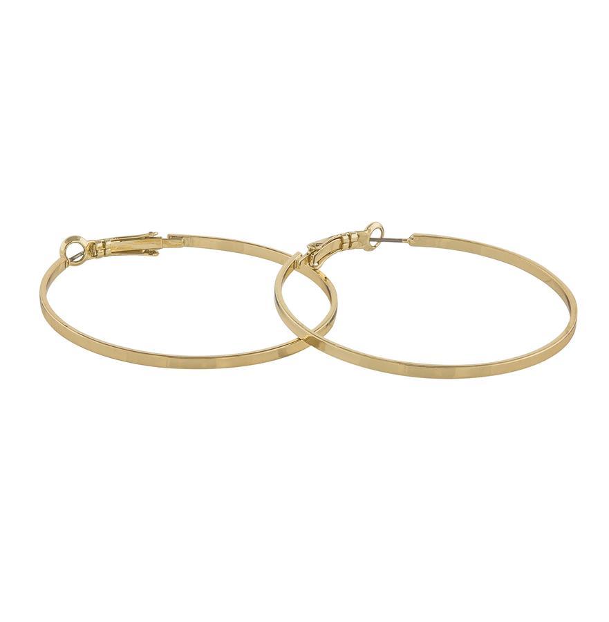 Snö Of Sweden Moe Ring Earring, Plain Gold