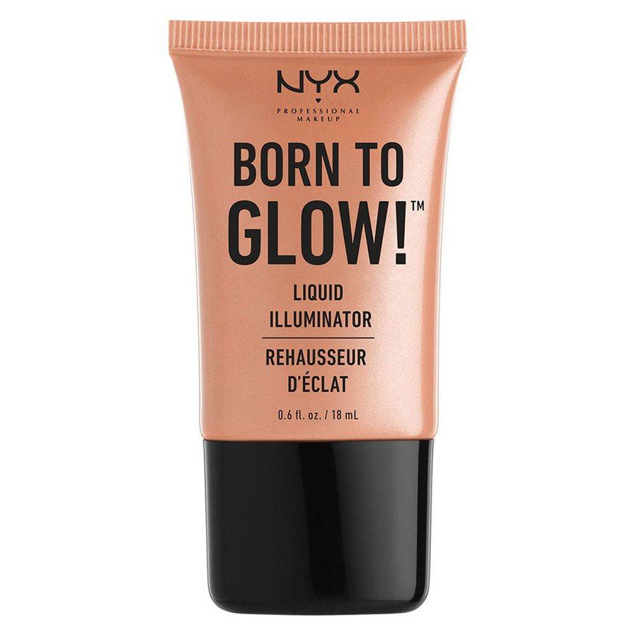 NYX Professional Makeup Born To Glow Liquid Illuminator (18 ml), Gleam