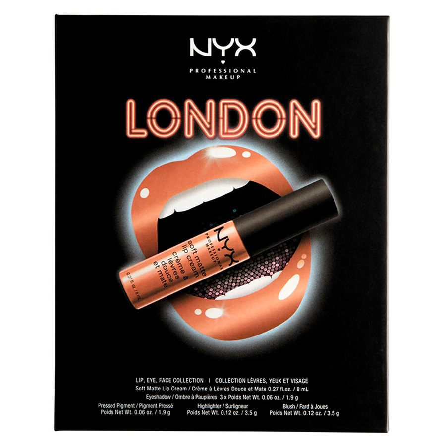 NYX Professional Makeup City Set, London