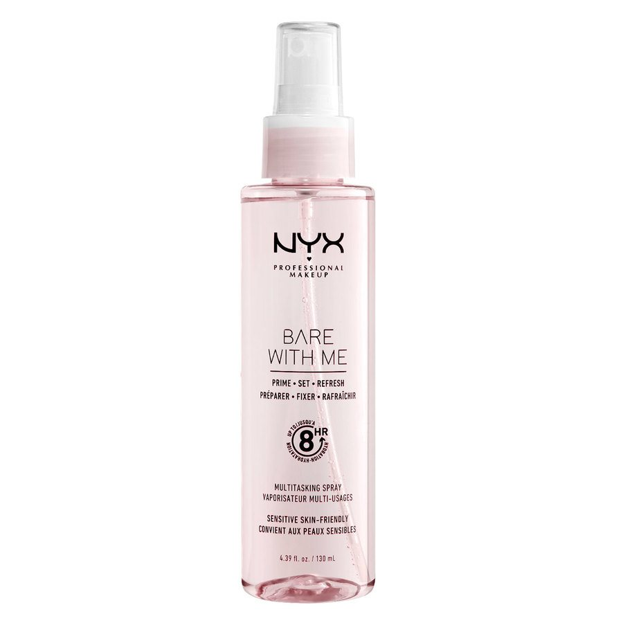 NYX Professional Bare With Me Prime Set Refresh Multitasking Spray Translucent 130ml
