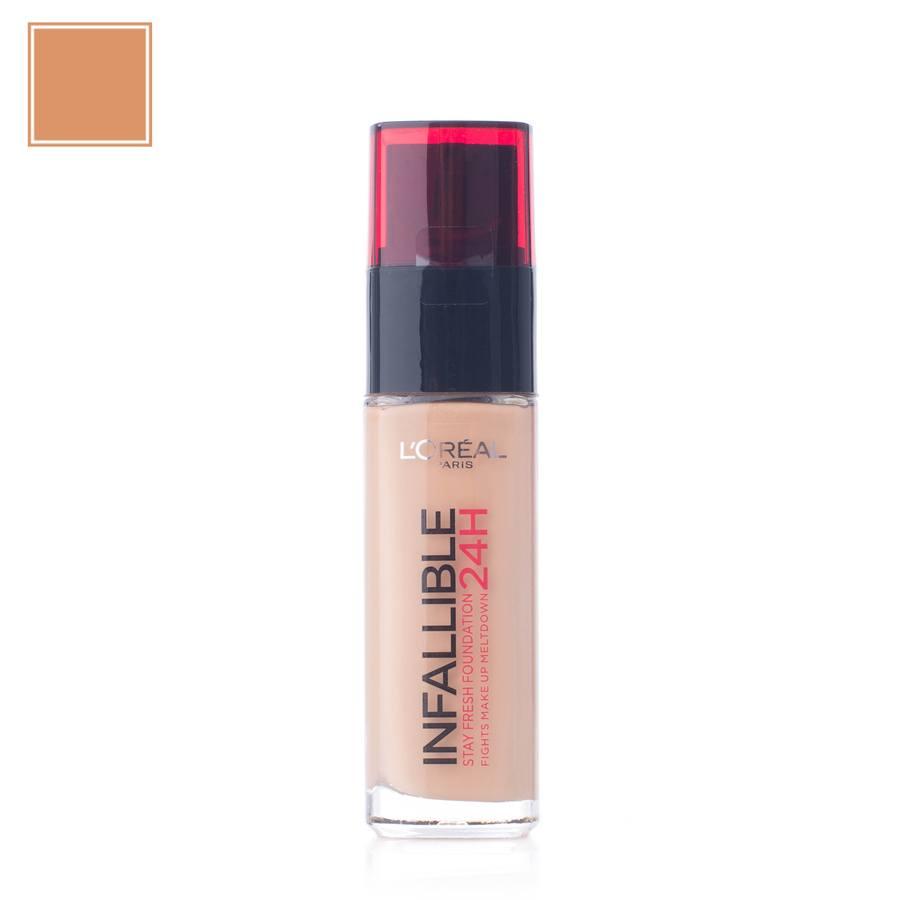 L'Oréal Paris Infallible 24H Liquid Foundation, 260 Golden Sun