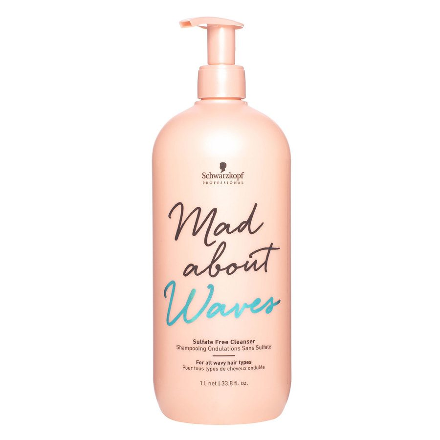 Schwarzkopf Mad About Waves Cleanser (1000 ml)