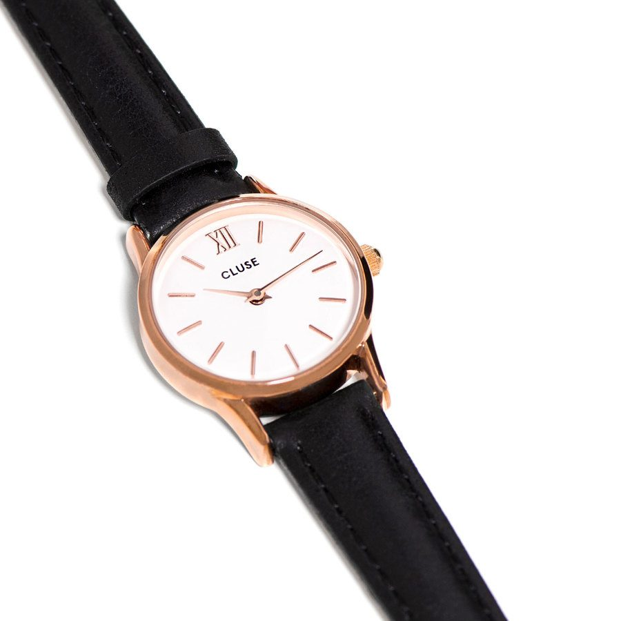CLUSE Leave Vedette, Rose Gold Black CL50008 (24 mm)