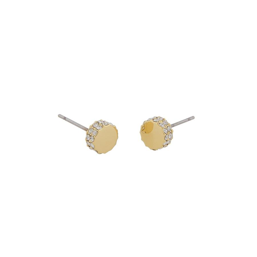 Snö Of Sweden Marly Small Earring, Gold/Clear