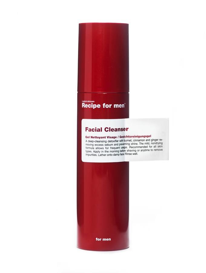Recipe For Men Facial Cleanser (100 ml)
