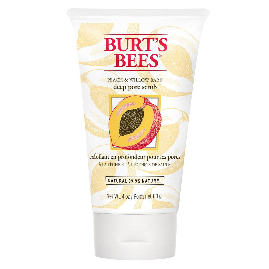Burt's Bees Peach & Willowbark Deep Pore Scrub (110 g)