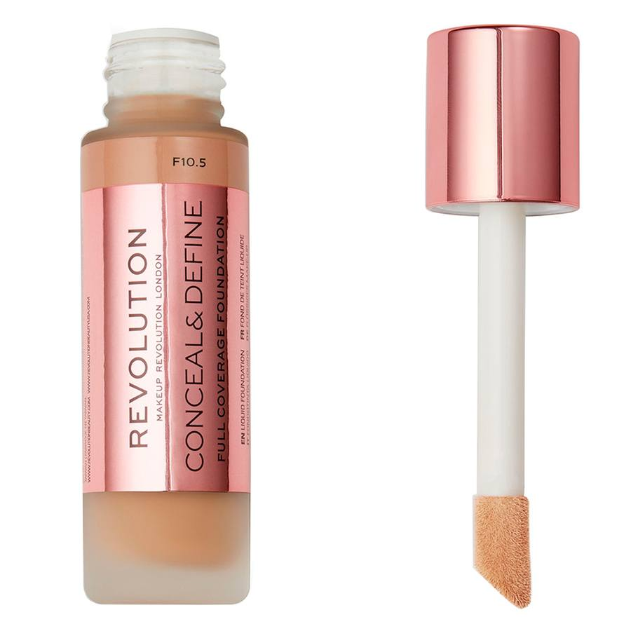 Makeup Revolution Conceal & Define Foundation F10.5 23ml