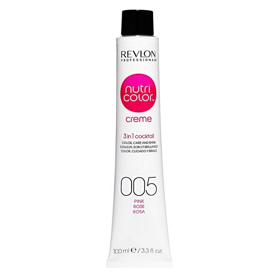 Revlon Professional Nutri Color Creme Fondant Colors, #005 Pink (100ml)