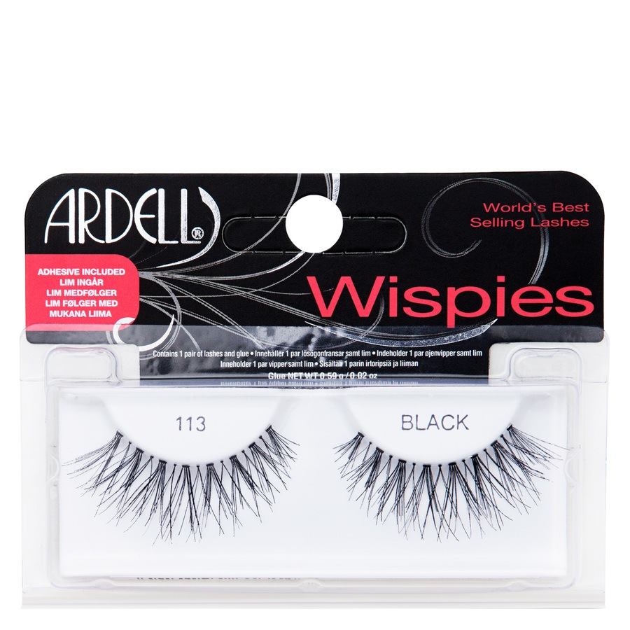 Ardell Wispies Fashion Lashes, 113 Black
