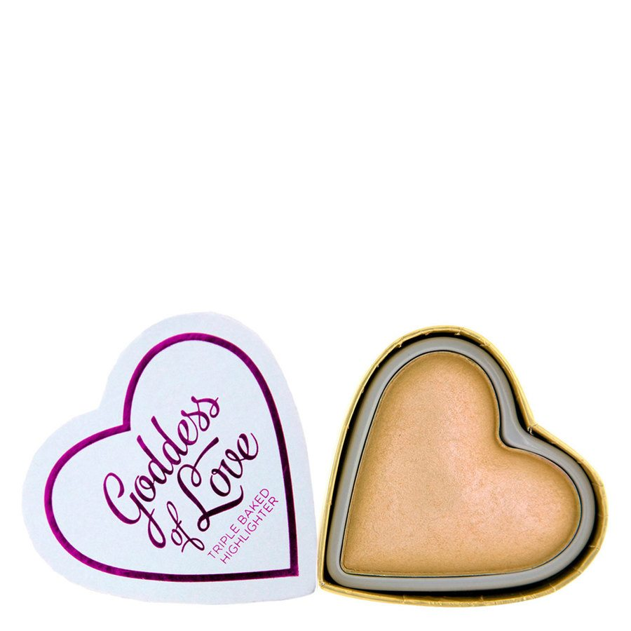 I Heart Revolution Blushing Hearts Highlighter Golden Goddess