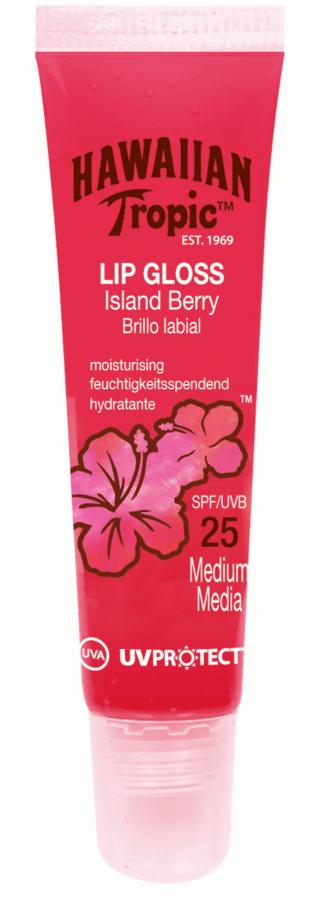 Hawaiian Tropic Lip Gloss, Island Berry LSF 25 (20 ml)