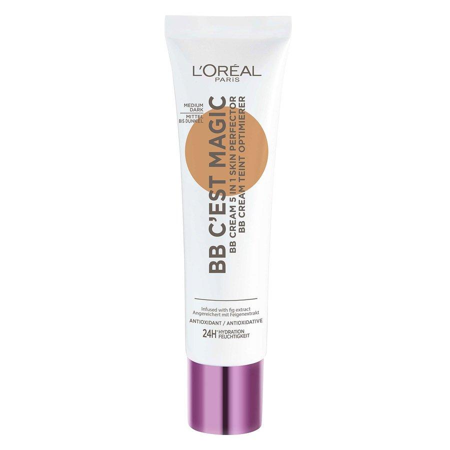 L'Oréal Paris C'est Magique Skin Perfector BB Cream Medium Dark #5