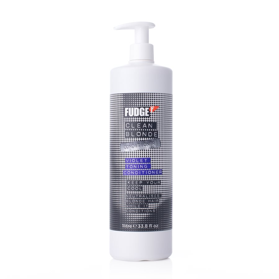 Fudge Clean Blonde Conditioner (1000 ml)