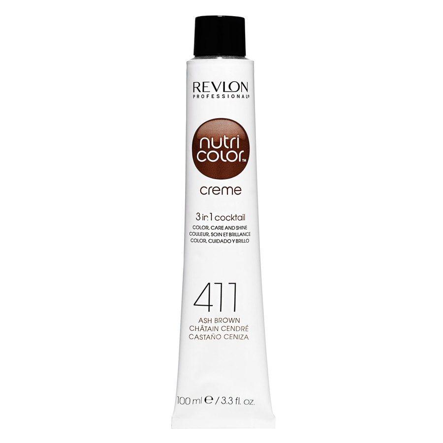 Revlon Professional Nutri Color Creme, #411 Brown (100ml)