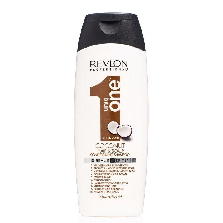 Revlon Professional Uniq One Hair & Scalp Conditioning Shampoo Coconut (300ml)