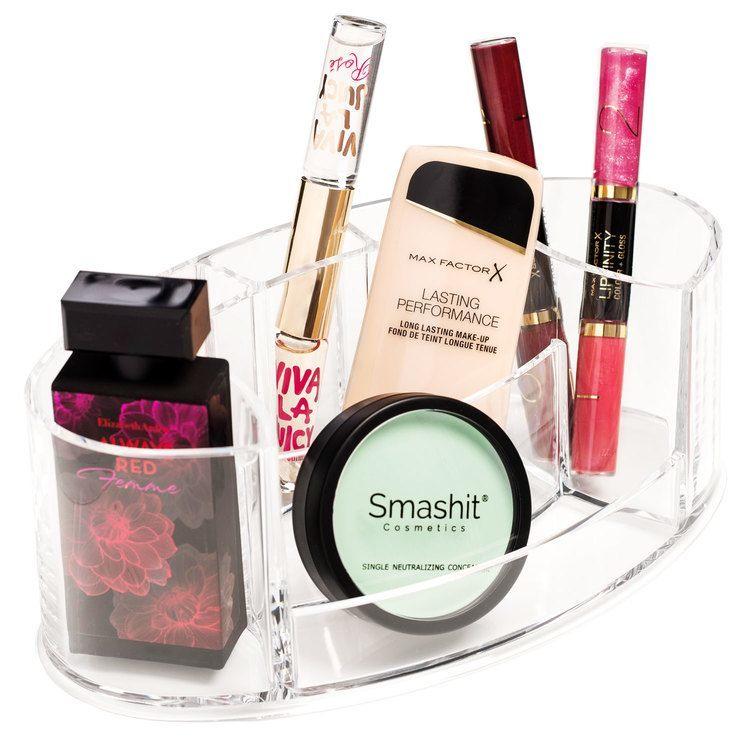 Shela's Ovale Aufbewahrungsbox für Make-up