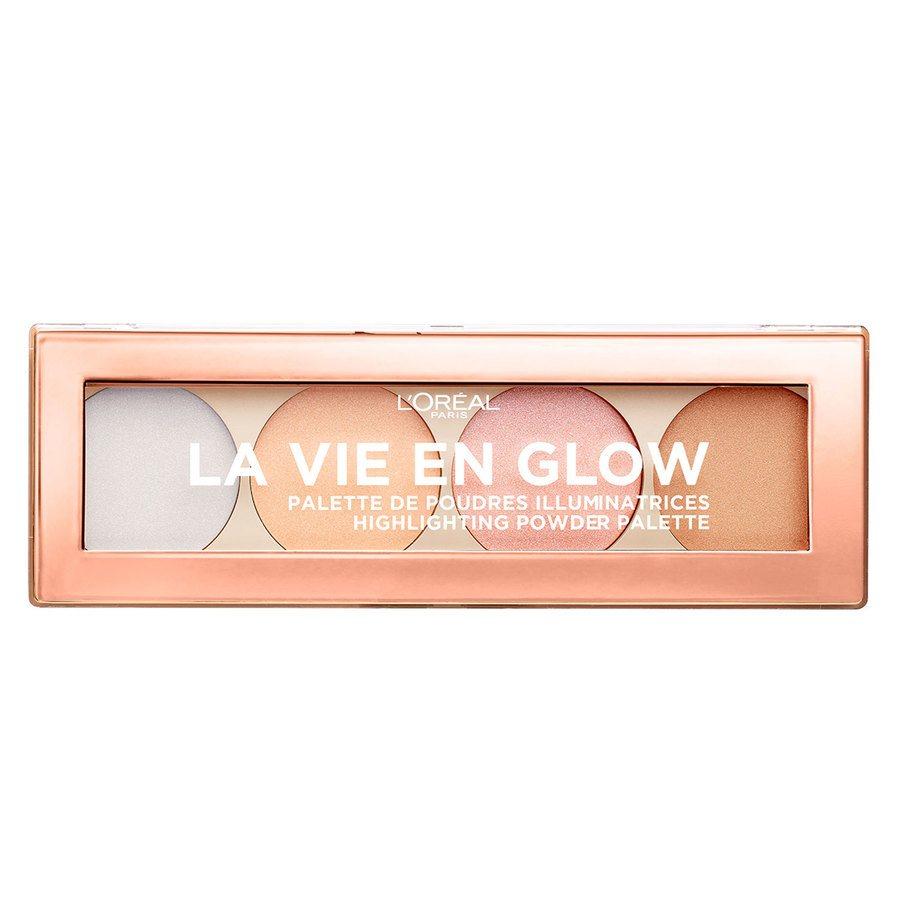 L'Oréal Paris La Vie En Glow Highlighting Powder Palette (5 g)
