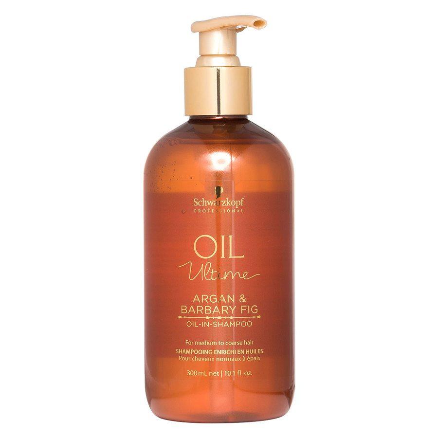 Schwarzkopf Oil Ultime Argan & Barbary Fig Oil-In-Shampoo (300 ml)