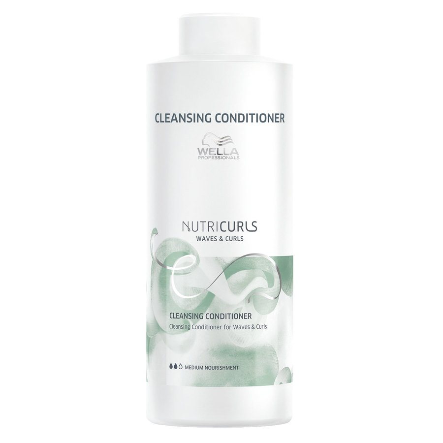 Wella Professionals Nutricurls Cleansing Conditioner For Waves & Curls (1000 ml)
