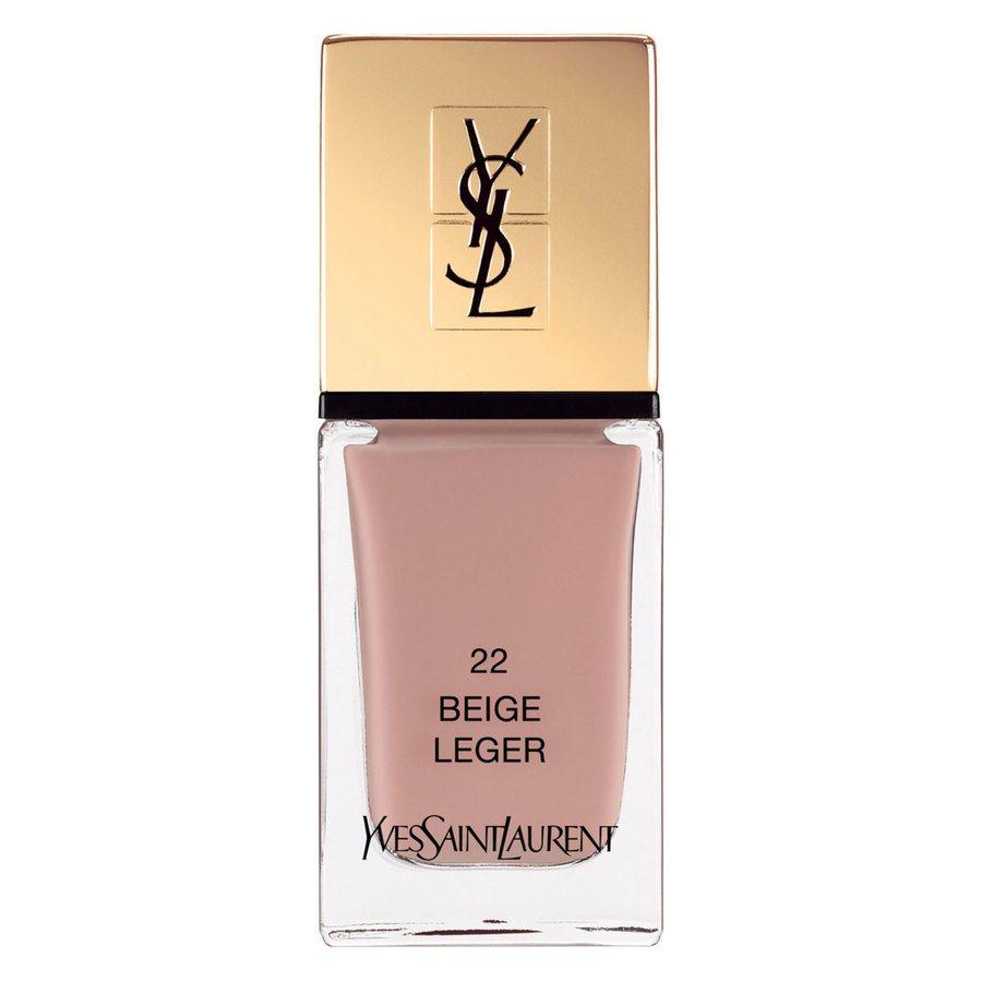 Yves Saint Laurent La Laque Couture Nail Lacquer, #22 Beige Leger