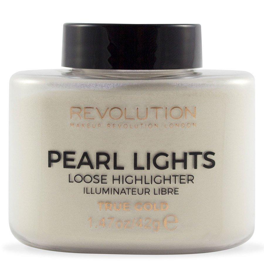 Makeup Revolution Pearl Lights Loose Highlighter True Gold 25g