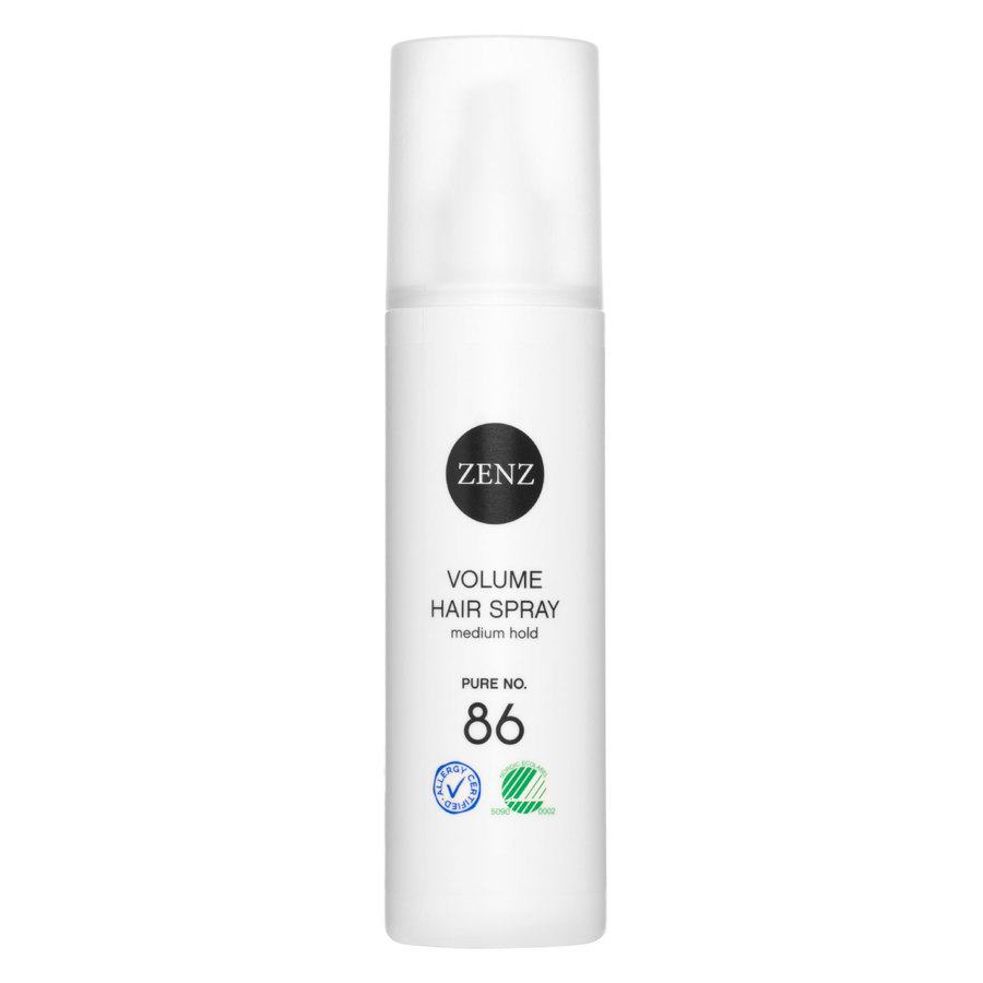 Zenz Organic Pure No. 86 Volume Hair Spray Medium Hold 200ml