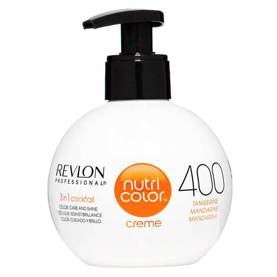 Revlon Professional Nutri Color Creme, #400 Tangerine/Mandarine (270ml)