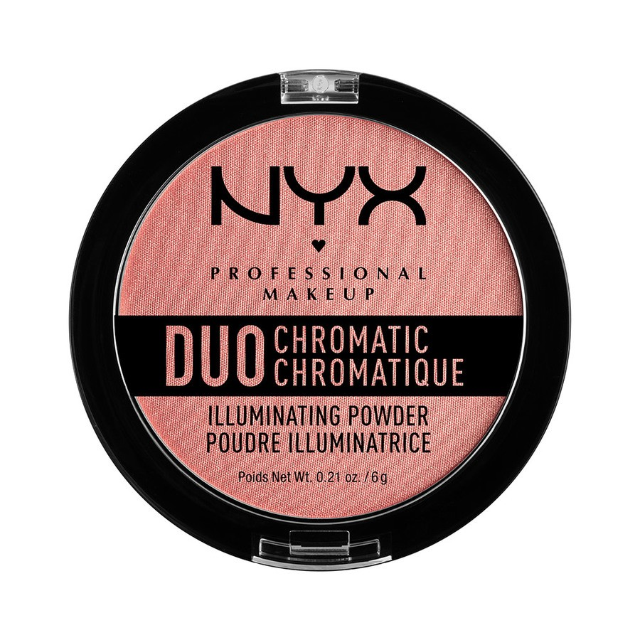 NYX Professional Makeup Duo Chromatic Illuminating Powder, Crushed Bloom DCIP03