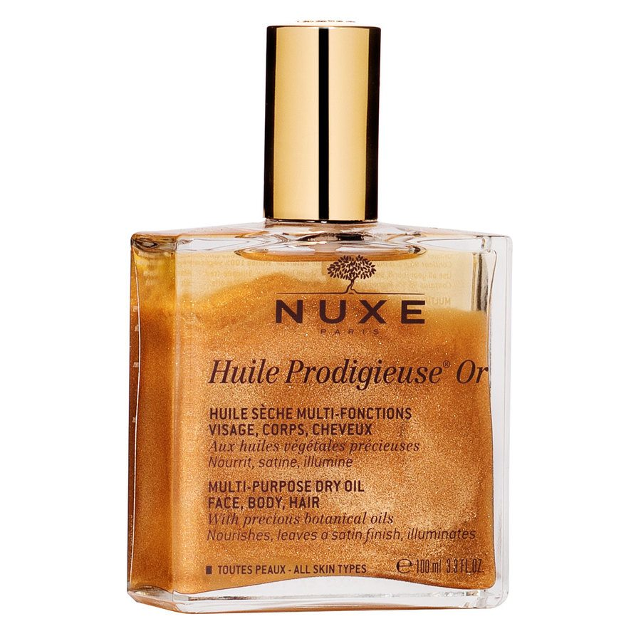 NUXE Huile Prodigieuse OR Multi-Purpose Dry Oil Face, Body, Hair (100 ml)
