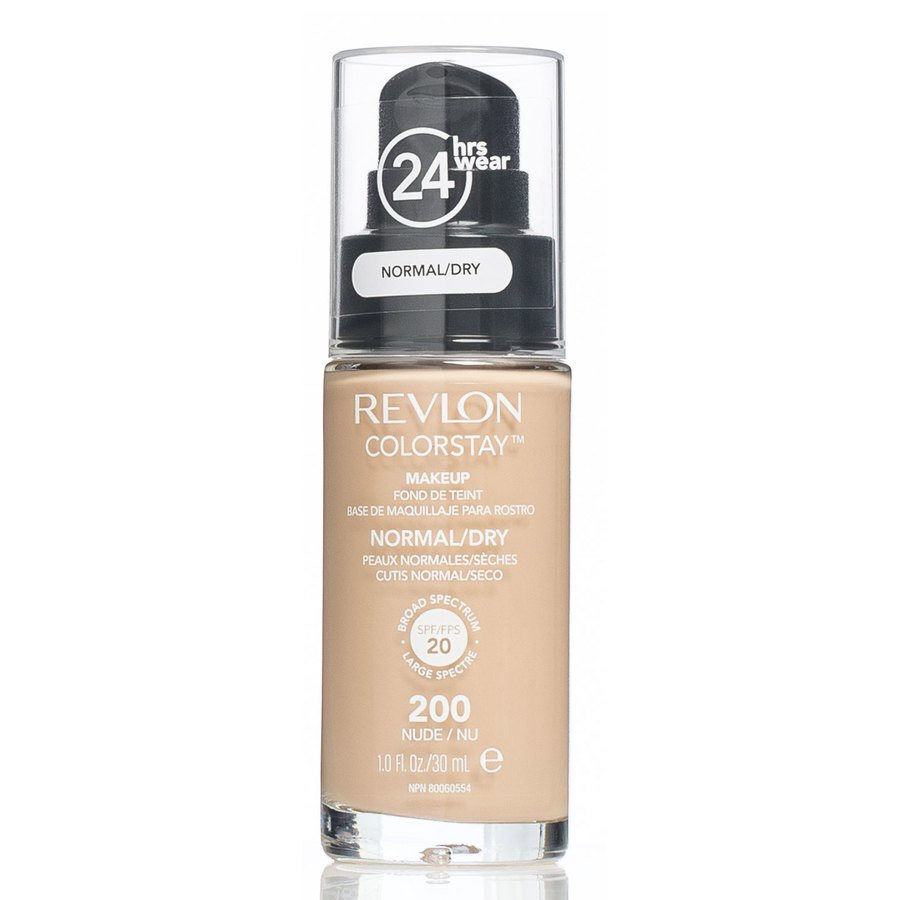 Revlon Colorstay Makeup Normal/Dry Skin, 200 Nude (30 ml)