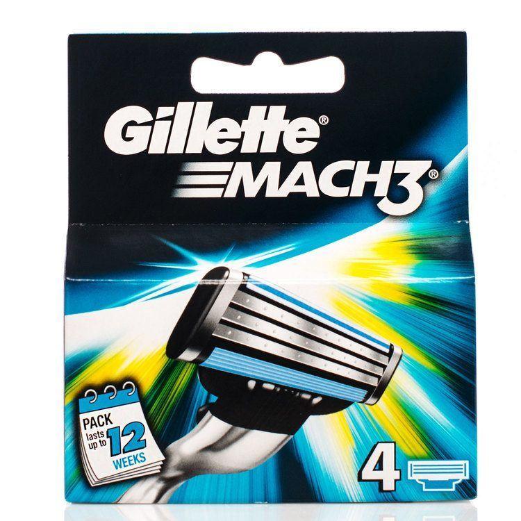 Gillette Mach 3 (4 Klingen)