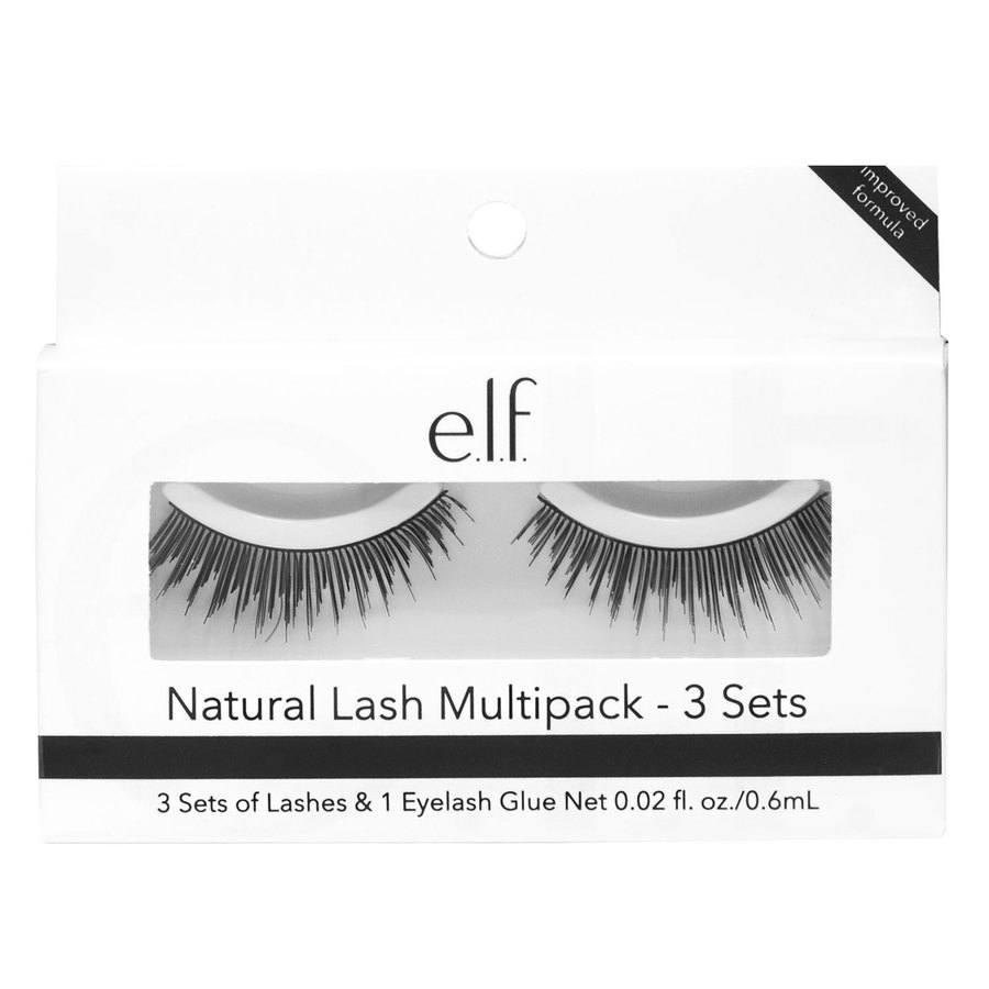 e.l.f Natural Lash Multipack (3 Sets)