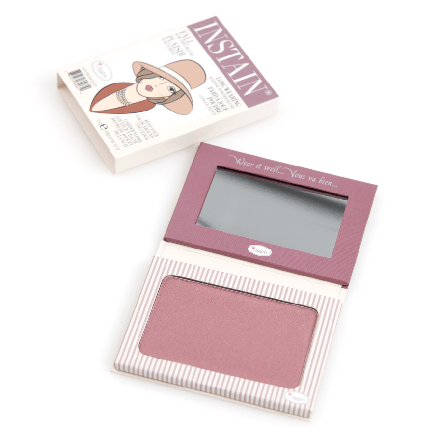 theBalm Instain Long Wearing Powder Blush, Pinstripe (5,5 g)