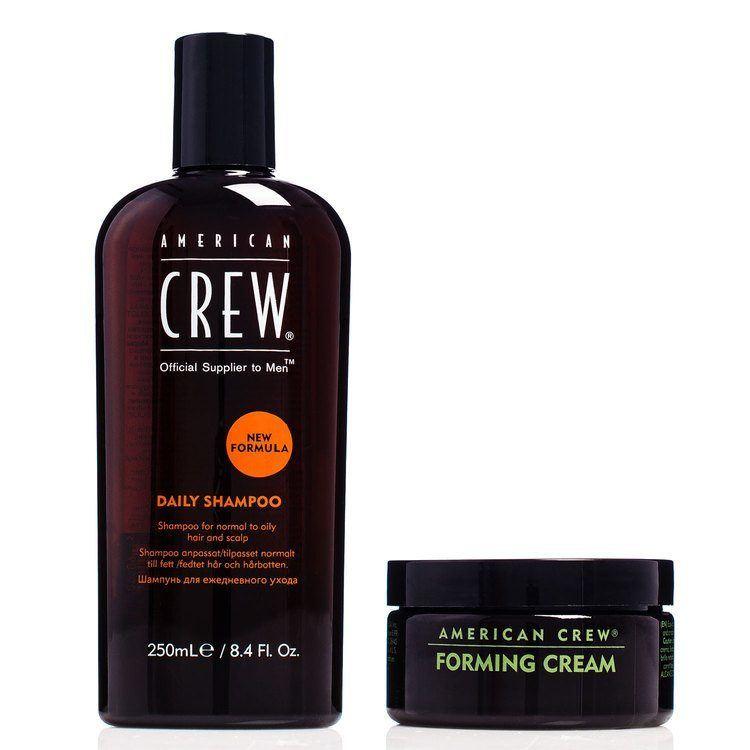 American Crew Daily Shampoo (250ml) & Forming Cream (85 g) für Ihn