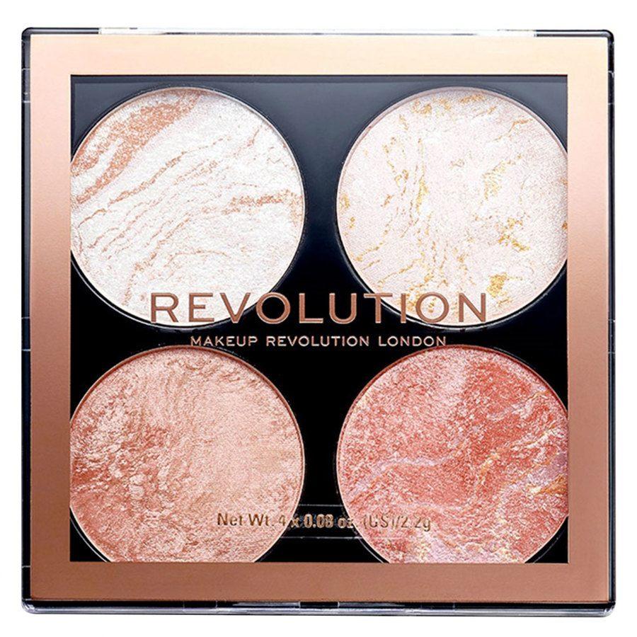 Makeup Revolution Cheek Kit Palette, Take A Breather (8,8g)